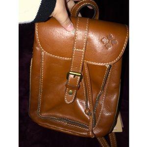 Patricia Nash Italian Leather Backpack